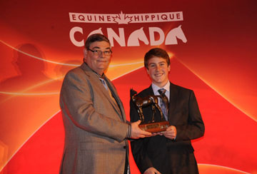 Thumbnail for Ben Asselin Named 2010 Equine Canada Junior Equestrian of the Year