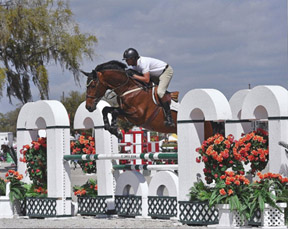 Thumbnail for Roberto Teran Wins in Young Horse Series at L'International Bromont