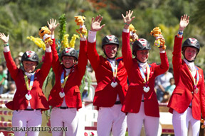 Thumbnail for Individual Gold and Team Silver for Canadian Eventing at Pan Am Games
