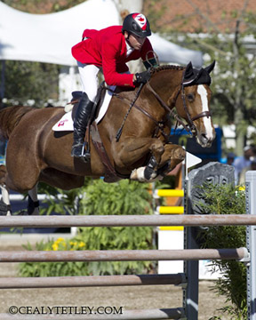 Thumbnail for Canadian Show Jumping Team in Fifth at Pan Ams