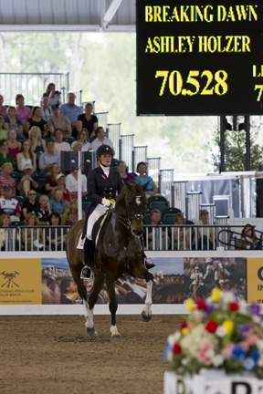 Thumbnail for Ashley Holzer is Fifth in Grand Prix at World Dressage Masters