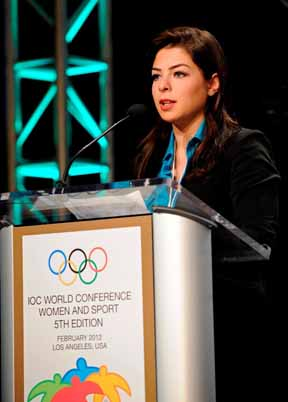 Thumbnail for Saudi Arabia's First Female Olympian Speaks at IOC Women and Sport Conference