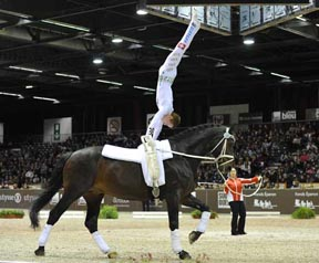 Thumbnail for Looser Retires at the Top in Vaulting Final