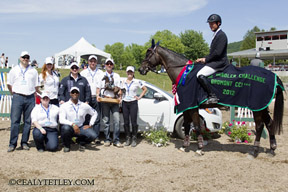 Thumbnail for Holling Wins CCI 3* at Volvo Bromont Three Day Event