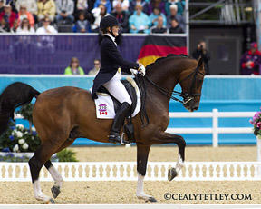Thumbnail for Ashley Holzer Advances for Canada in Olympic Dressage