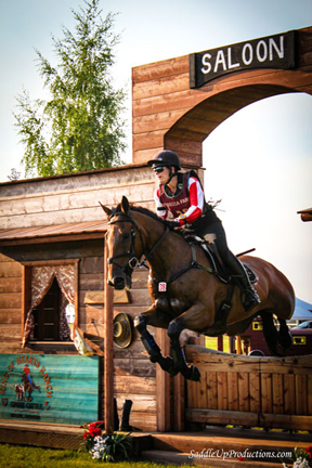 Thumbnail for Lisa Marie Fergusson Scores at Rebecca Farm Three Day Event