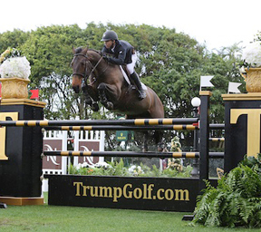 Thumbnail for Kent Farrington Wins $125,000 Trump Invitational