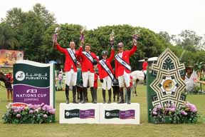 Thumbnail for Canada Leading North American League of Furusiyya FEI Nations Cup Series