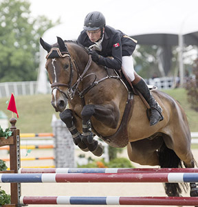 Thumbnail for Canadian Jumpers Move Forward to Finals at NAJYRC