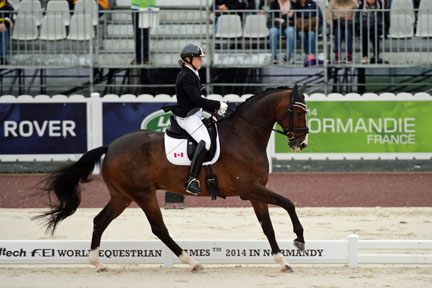Thumbnail for Roberta Sheffield and Ashley Gowanlock Open Para-Dressage Competition for Canada