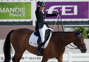 Thumbnail for Morganti Victorious on Para-Equestrian Dressage Day Two