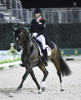 Thumbnail for Canada's Karen Pavicic and Don Daiquiri Place Third in First-ever Central Park Dressage Challenge