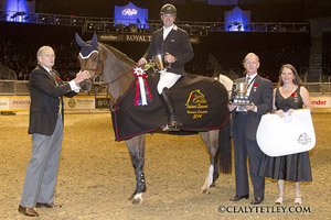 Thumbnail for Neil Badcock Crowned Jump Canada Talent Squad Champion at Royal Horse Show