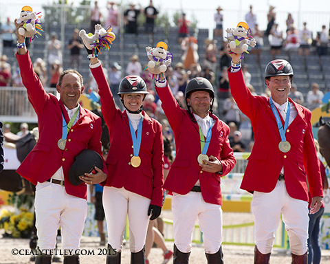 Thumbnail for Pan Am Gold for Canadian Show Jumping Team