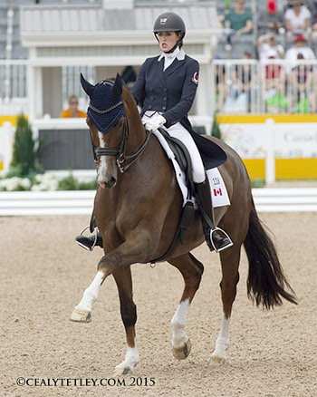 Thumbnail for Canadian Dressage Team Lying Second in Pan Am Games Competition