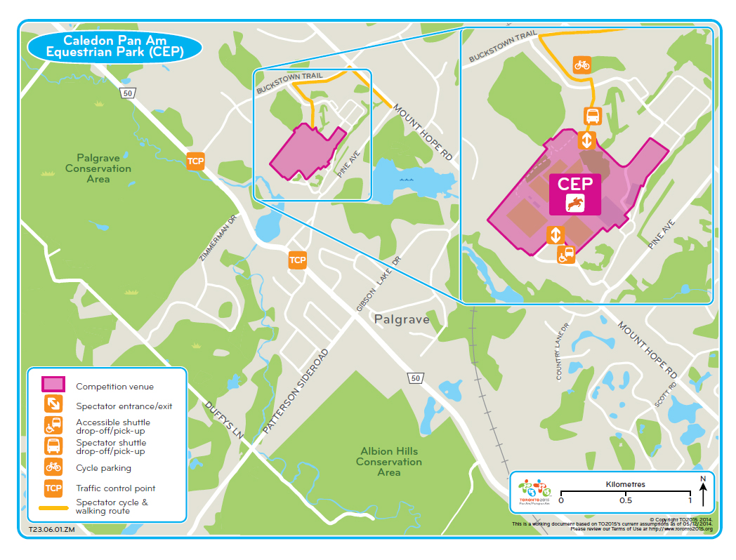 Thumbnail for Temporary traffic changes during the TORONTO 2015 Pan Am Games