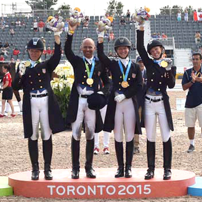 Thumbnail for US Dressage Team Earns Berth in Rio