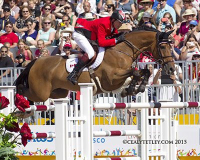 Thumbnail for All Clears for Canadian Show Jumping Team in 1st Pan Am Qualifying Round