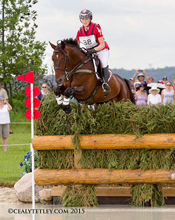 Thumbnail for Canadian Eventing Team in Third Place at Pan Am Games