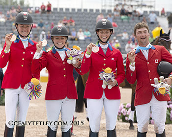 Thumbnail for Pan Am Silver for Jessica Phoenix, Bronze for Canadian Eventing Team