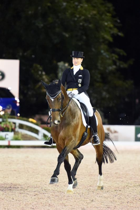 Thumbnail for Isabell Werth Dominates U.S. Open $75,000 Dressage Freestyle