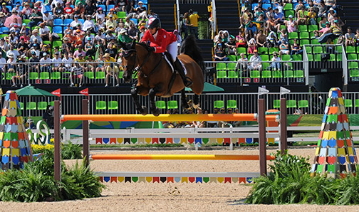 Thumbnail for Amy Millar takes round 1 of the Canadian Show Jumping Championship