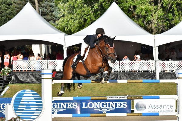 Thumbnail for Lucy Deslauriers Tops at International Bromont Again