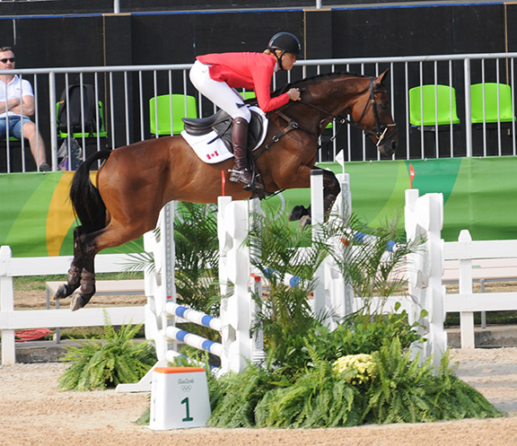 Thumbnail for Canada's Rebecca Howard 10th in Eventing Individual Final in Rio