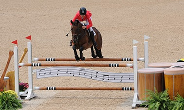 Thumbnail for Rebecca Howard and Riddle Master to jump in Individual Final