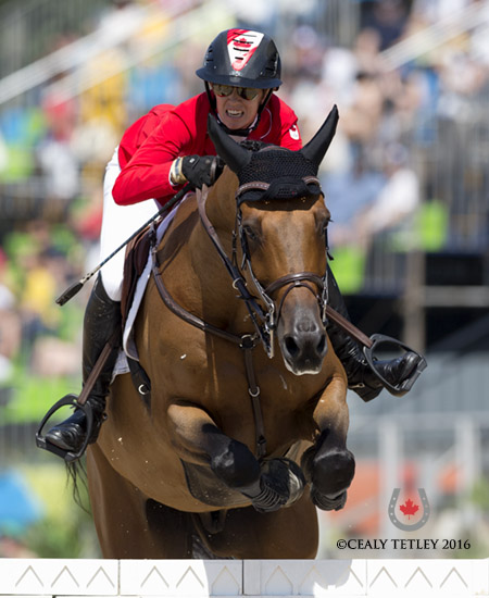 Thumbnail for Canadian Show Jumpers Have Strong Showing in Rio