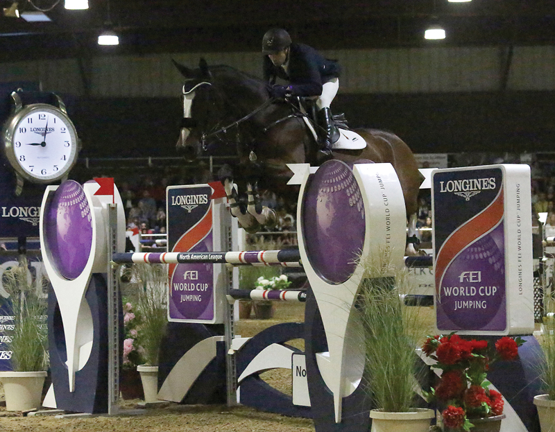 Thumbnail for Canada's Chris Surbey Places Third in Longines FEI World Cup in Sacramento