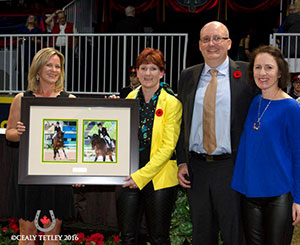 Thumbnail for 2016 Dressage Owners of the Year:Robyn Eames & Mark Trussell
