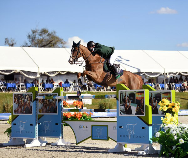 Thumbnail for Isabelle Lapierre 4th in $100,000 City of Ocala Grand Prix at HITS