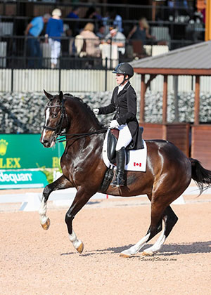 Thumbnail for Canadians Have Successful WEG Test Run at CDI 3* Tryon