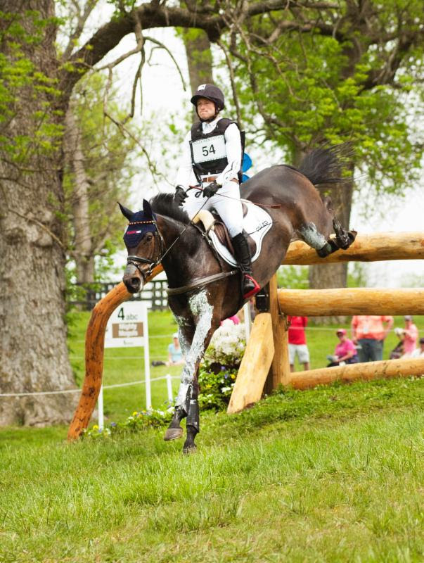 Thumbnail for Jung Leads; O'Hanlon and Foxwood High Top Canadian at Rolex Kentucky
