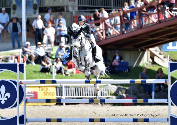 Thumbnail for Lucy Deslauriers in the winner's circle in Modified Grand Prix atInternational Bromont