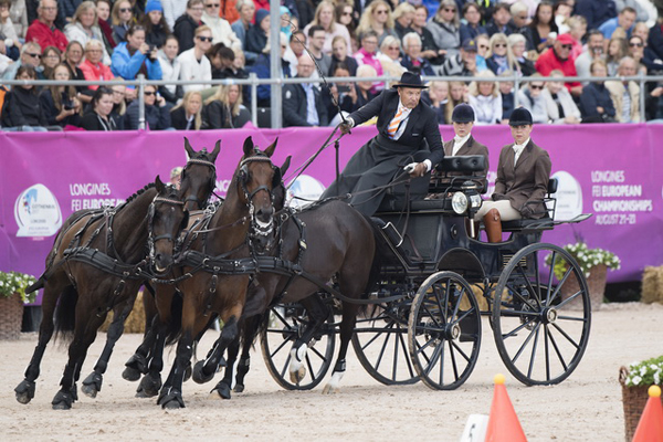 Thumbnail for Dutch claim double driving gold on final day of Championships