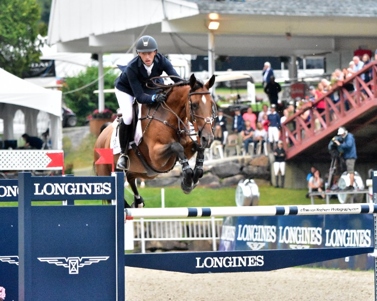 Thumbnail for Canadians 2nd and 3rd in FEI Assante Classic at Bromont