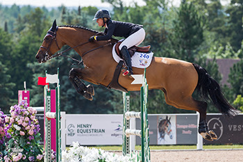 Thumbnail for Canadian Olympian Amy Millar Masters CSI2* Caledon Premier