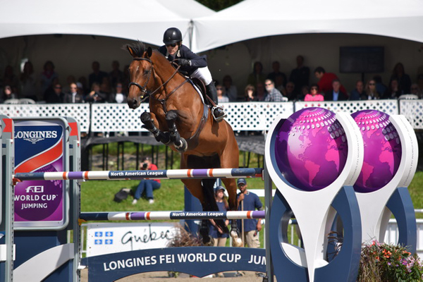 Thumbnail for Isabelle Lapierre has big win in Longines opener at Bromont