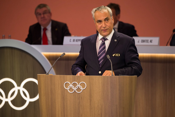Thumbnail for FEI President Ingmar De Vos elected as IOC Member