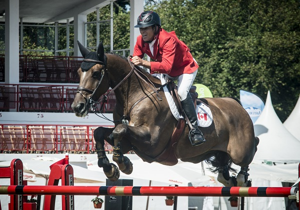 Thumbnail for Canadian Show Jumping Team Takes Fourth in Gijon
