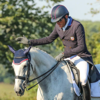 Thumbnail for Crackerjack, ridden by Boyd Martin, euthanized following injury at Pau CCI4*