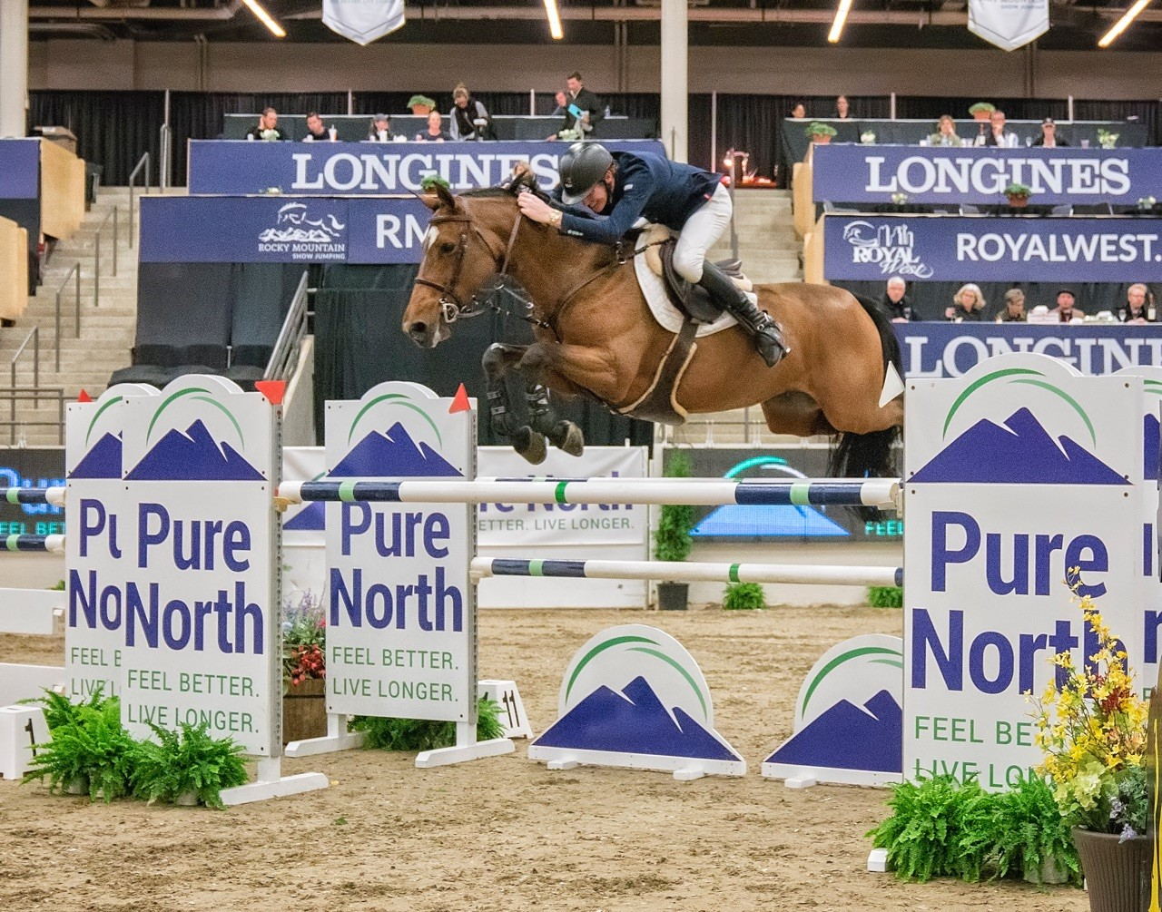 Thumbnail for Ireland's Coyle Wins Telus Cup at Spruce Meadows Masters