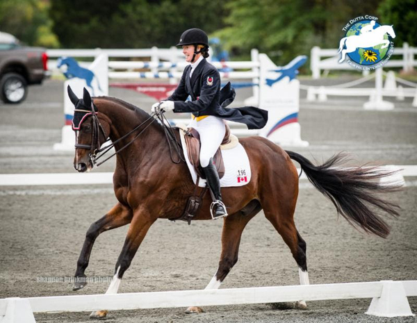 Thumbnail for O'Hanlon Earns CCI*** Dressage Lead at Fair Hill