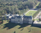 Nearby Biltmore Estate in Asheville, NC. Nearly 179,000 square feet, this 8,000-acre estate is still owned by one of builder George Washington Vanderbilt II's descendants. It is the largest privately-owned house in the United States.