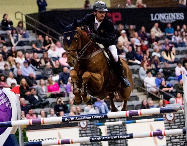 Thumbnail for Denis Lynch Wins Longines FEI World Cup™ Jumping in Lexington