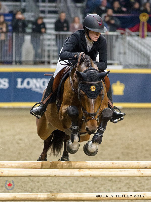 Thumbnail for Nicole Walker Takes Uplands U25 Jumping National Championship