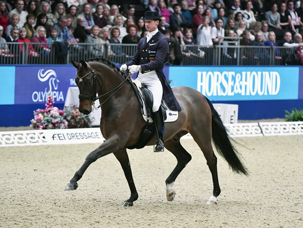 Thumbnail for Sweden's Kittel Wins FEI World Cup™ Dressage at Olympia