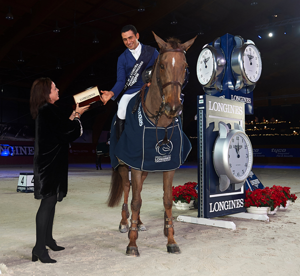 Thumbnail for Sameh El Dahan wins Longines Grand Prix in La Coruña